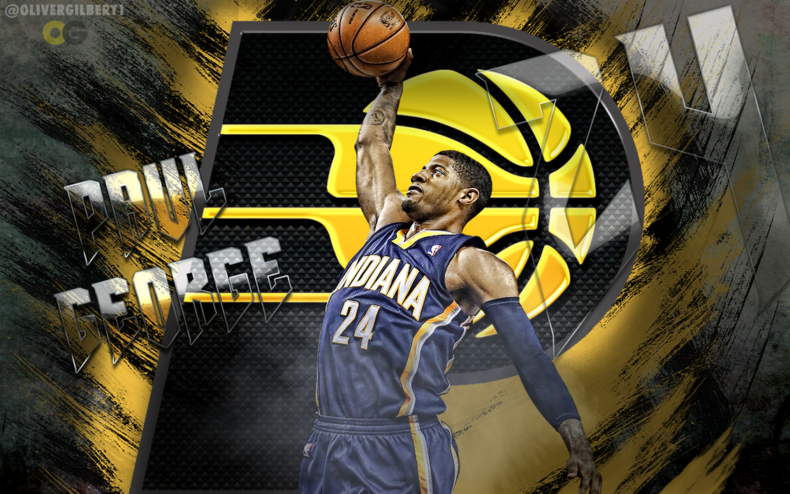 Paul george dunk wallpaper by hecziaa on deviantart paul george dunk wallpaper by hecziaa voltagebd Choice Image