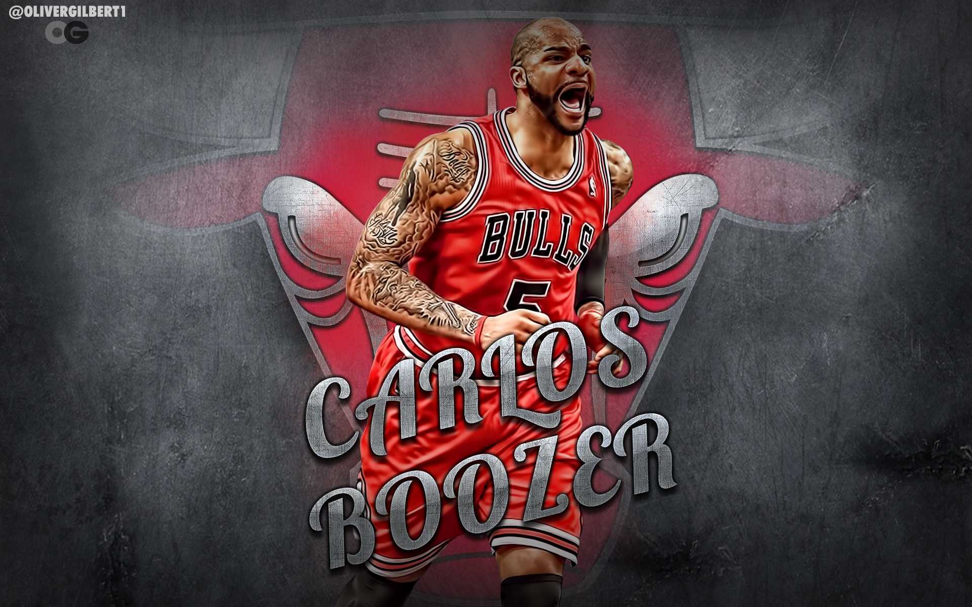 Carlos Boozer Chicago Bulls Wallpaper by Hecziaa on DeviantArt