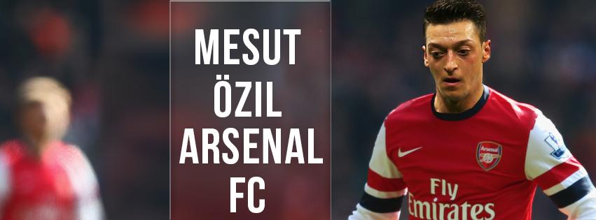 Mesut Ozil 11 Arsenal Facebook Cover By Hecziaa On DeviantArt