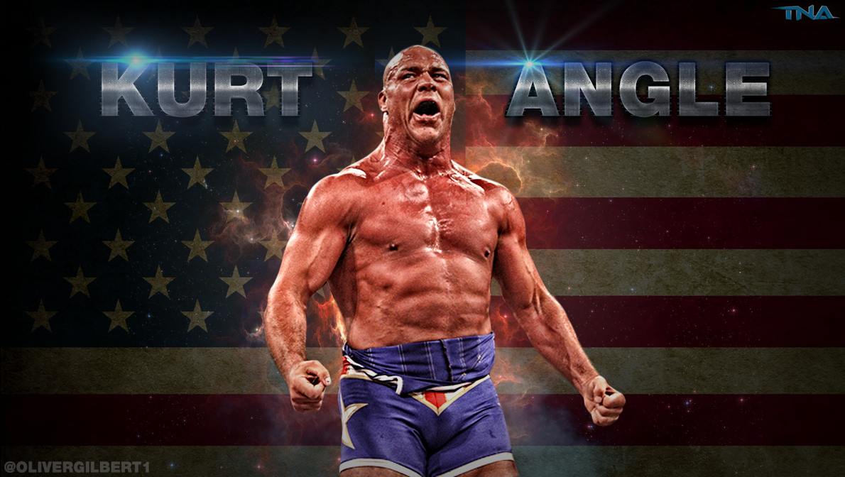 Kurt Angle TNA Impact Wrestling Wallpaper by Hecziaa