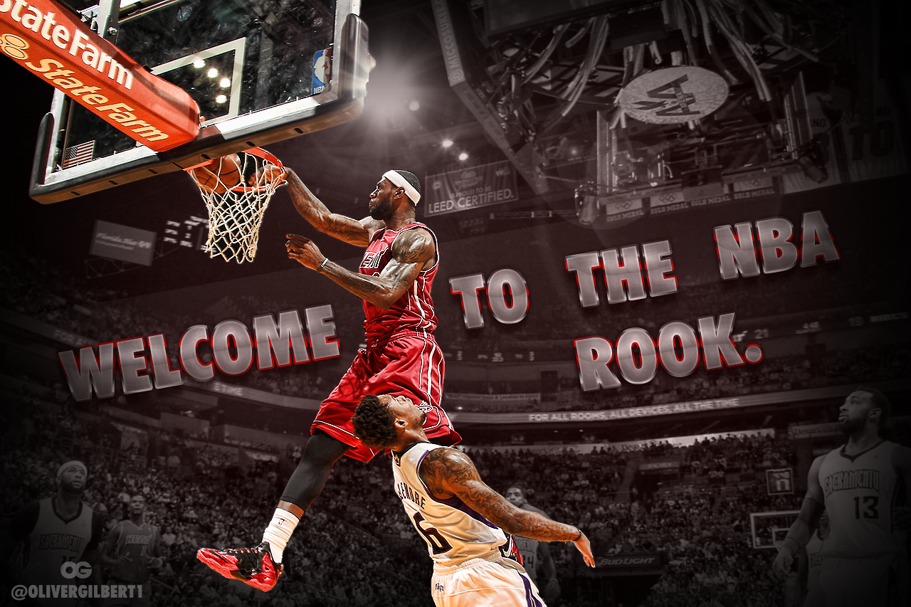 King James POSTERIZE Wallpaper By Hecziaa