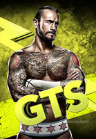 CM Punk Mobile Phone Wallpaper GTS by Hecziaa