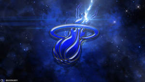 Miami Heat Space Wallpaper by Hecziaa