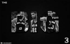 Spurs BIG 3 by Hecziaa