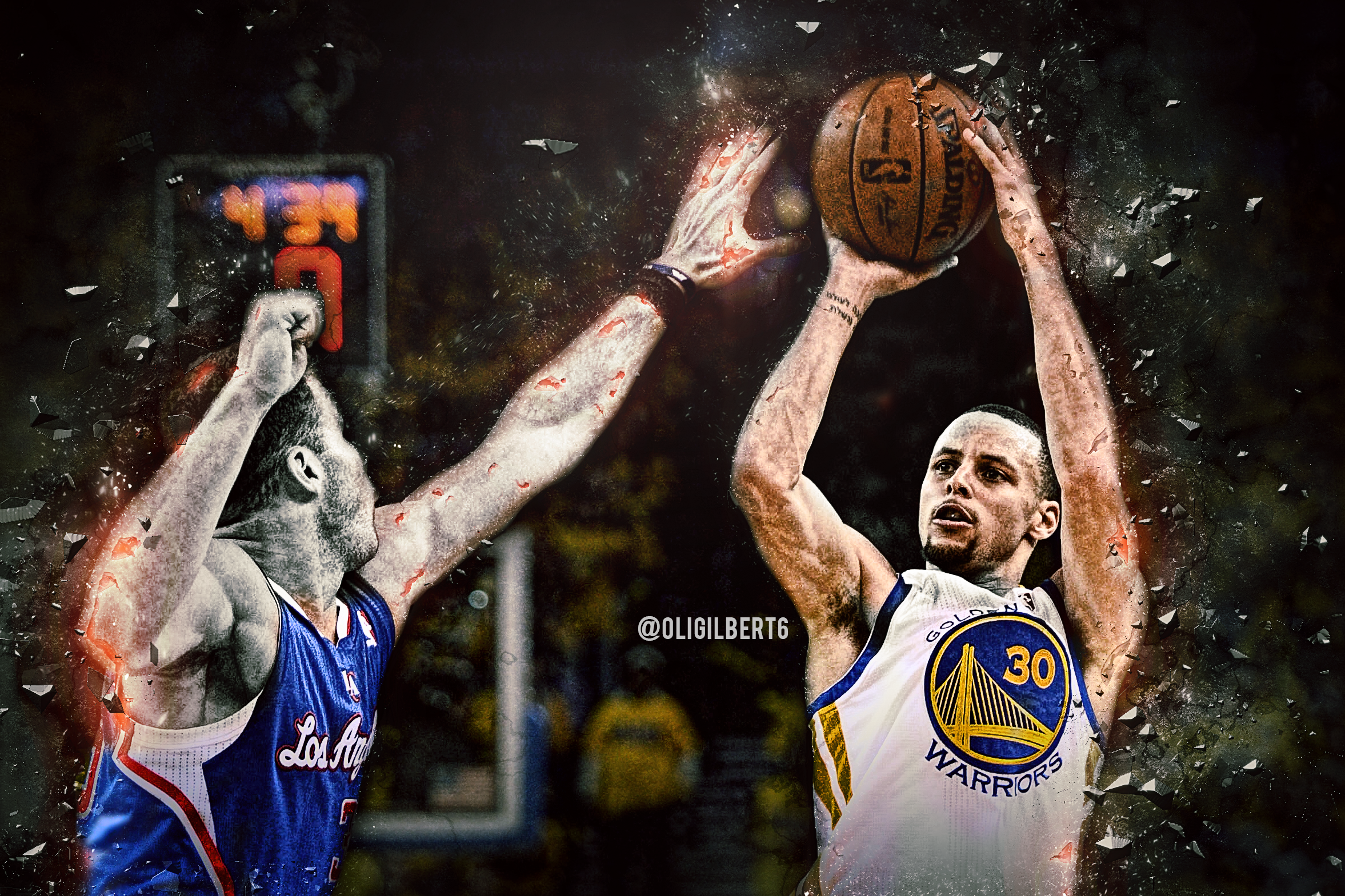 Must see Wallpaper Logo Stephen Curry - stephen_curry_wallpaper_by_hecziaa-d8gjpq6  Pictures_955617.png