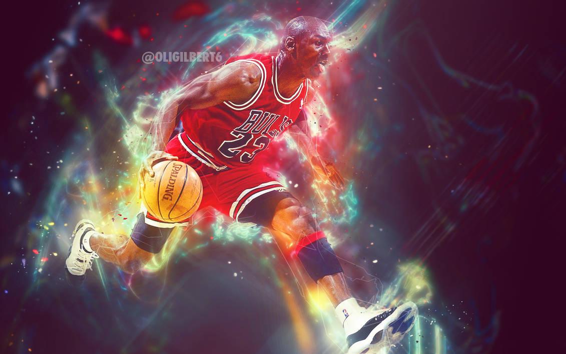 Dope Nba Wallpaper: Michael Jordan Wallpaper By Hecziaa On DeviantArt