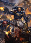 Space Marine vs Ork rs