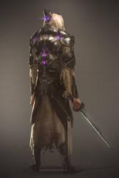 Sci Fi Assassin - Character Design by BorisDigitalArtist