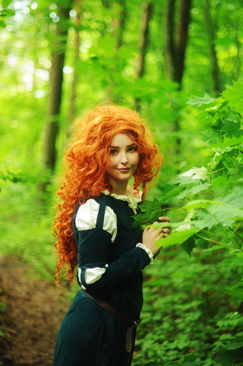Merida - Brave 1 by StarbitCosplay