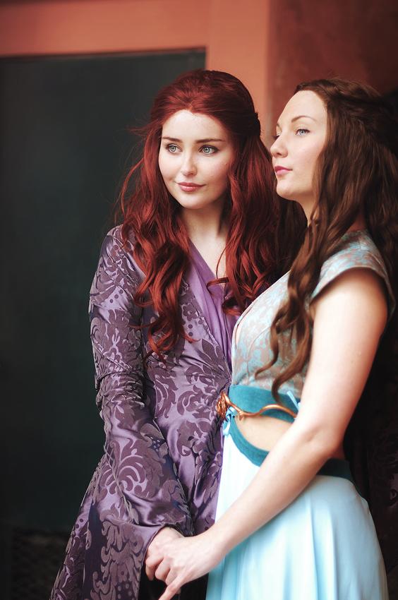 Sansa and Margaery by StarbitCosplay