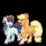 Applejack and Rara