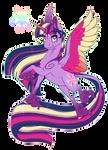 Rainbow Powered Twilight Sparkle