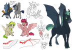 Headcanon - Batty ponies