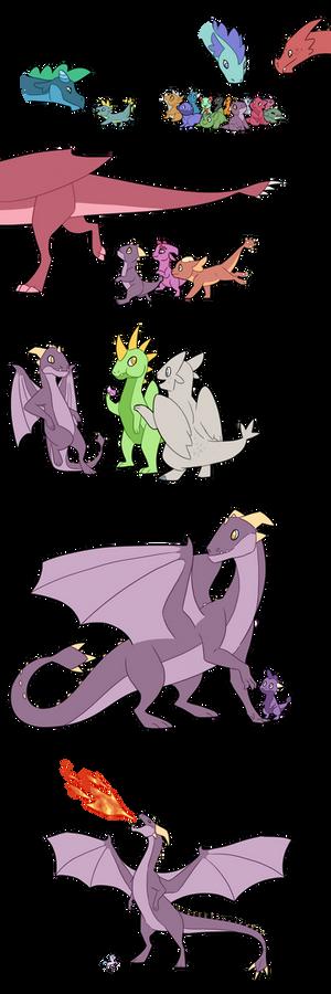 Headcanon - Dragons