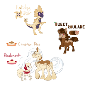 Holiday Adopts-A few treats to start with (Closed)