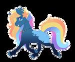 Luna x Rainbow -[C]