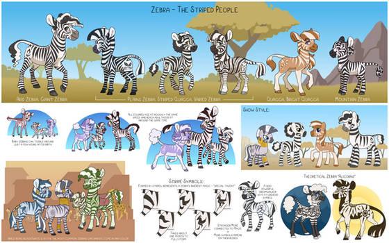 Headcanon -Little Zebras