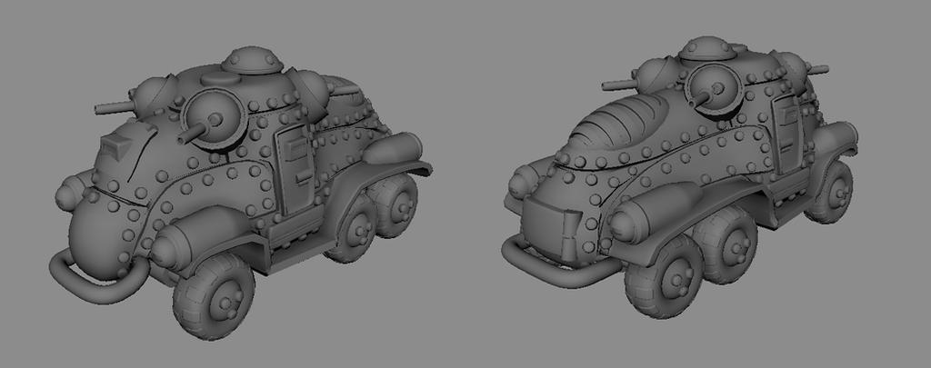 Armored Car  model by Henskelion