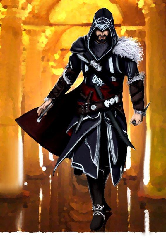 Ezio Auditore Revelations By Liliumetumbra On Deviantart