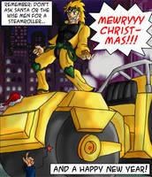 Mewryyy Christmas by feadraug
