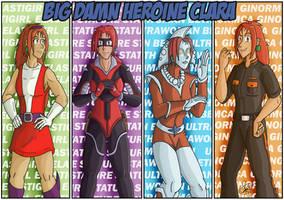 Big Damn Heroine Clara by feadraug