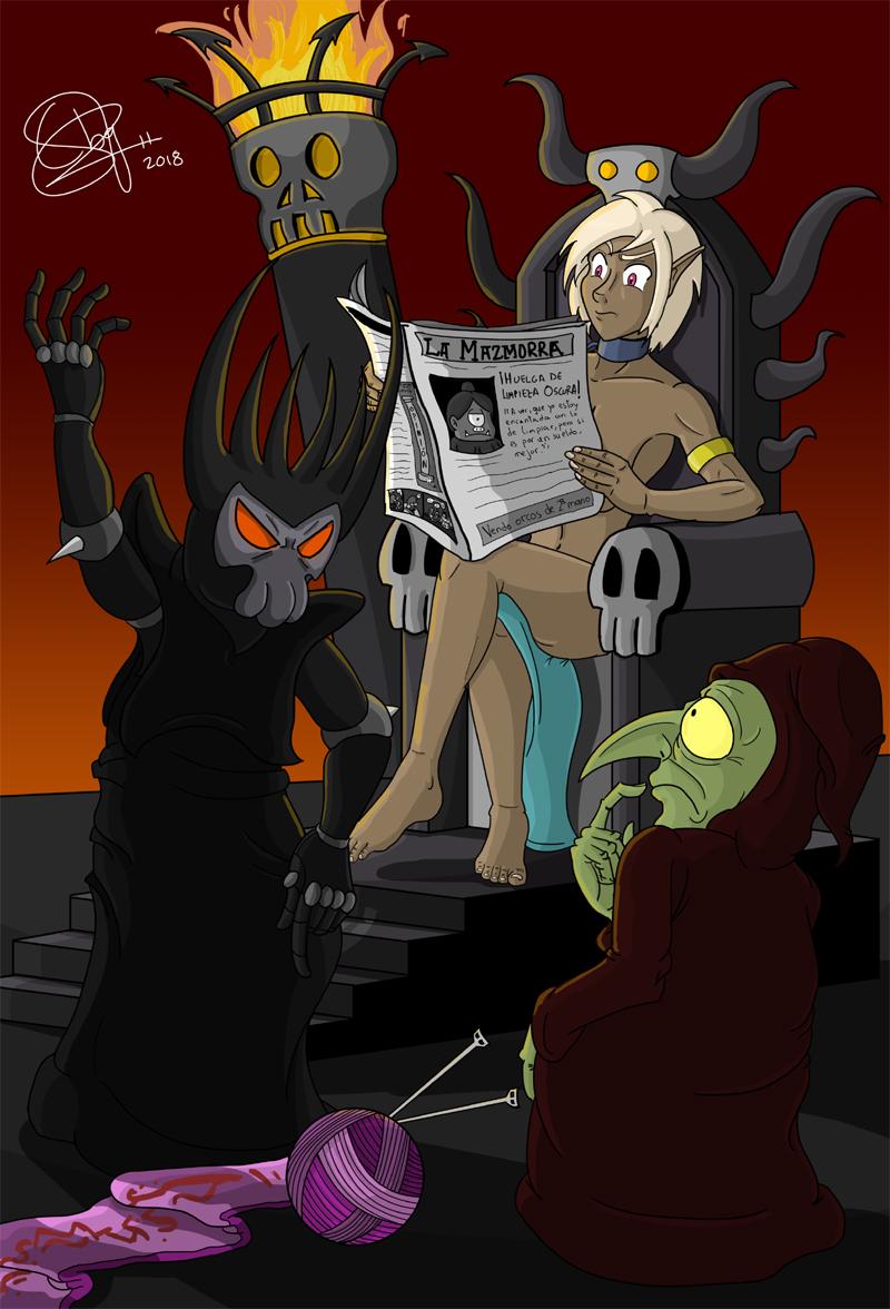 Dark Lord by feadraug