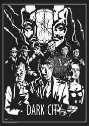 MOVIE POSTER 1 DARK CITY by rekening