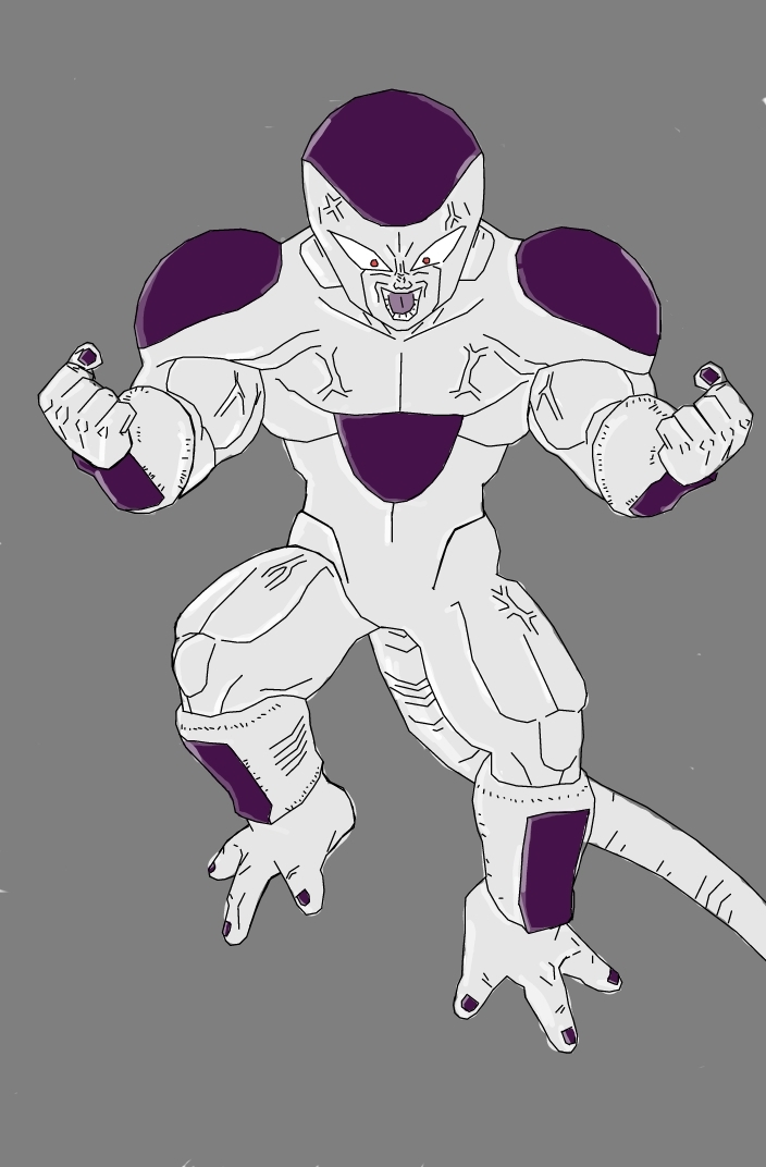 Gallery For > Frieza Full Power