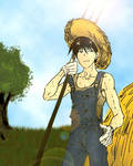 Roy in Farm