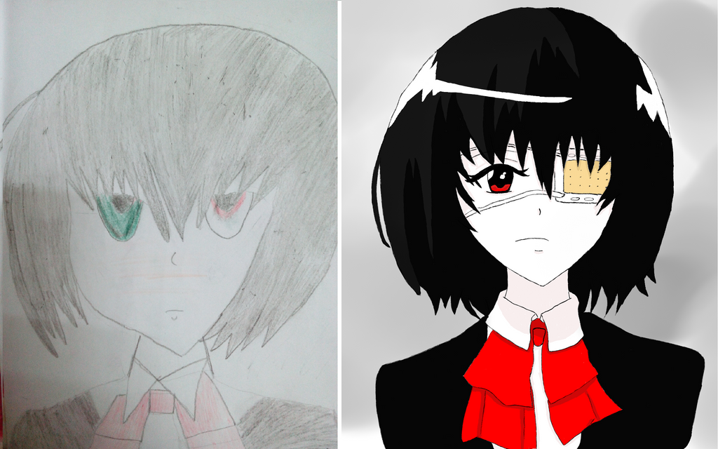 My First Drawing by Treivis