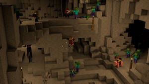 Me and my gang playing Minecraft by Mikes8899