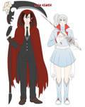 Grimm Reaper AU Design [RWBY]