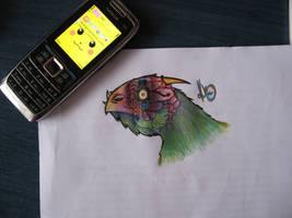 Dragon Chicken by OllusC