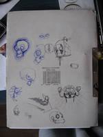 random doodles by OllusC