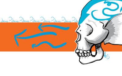 Skull Wallpaper by OllusC