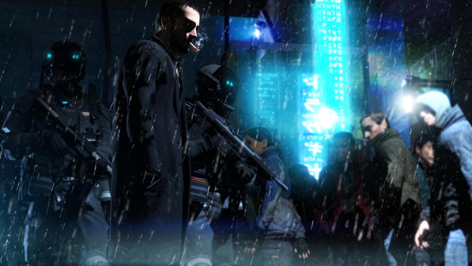 Cyberpunk by Zomboido
