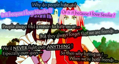 ~ Hinata and Sakura ~ by AnImEaNdMaNgAfOrEvEr