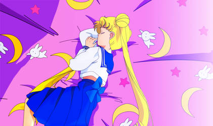 Sailor Moon / Usagi Tsukino 2013 by JackoWcastillo