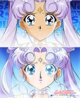 SAILOR MOON STARS - Sailor Cosmos (Remake) by JackoWcastillo