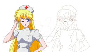 SAILOR MOON CRYSTAL - Minako Nurse