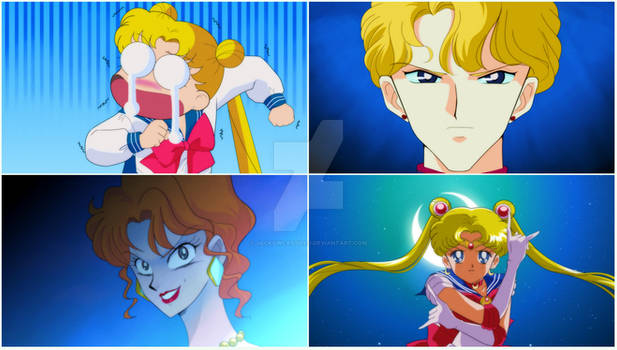 SAILOR MOON CLASSIC - Screenshot Re Draw