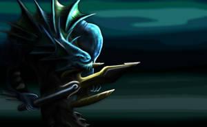 Naga Myrmidon by Invisty