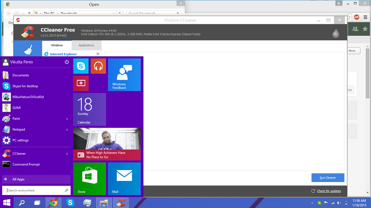 is there an application to show windows 10 is updating