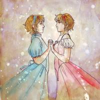 Maddock and Freya by kafine
