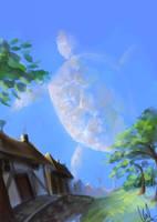 Sky turtle by kafine