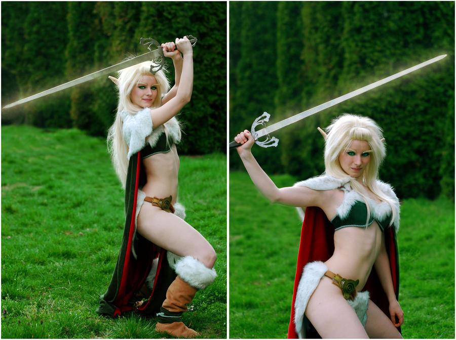 Magic Sword by EnjiNight