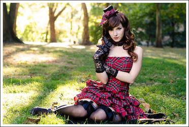 Plaid lolita by EnjiNight