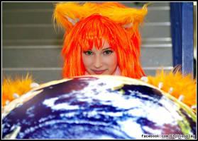 Firefox close up by EnjiNight