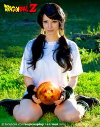 Videl - Dragon BallZ II by EnjiNight