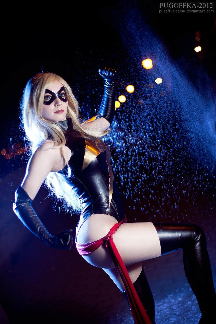 Ms Marvel cosplay V by EnjiNight